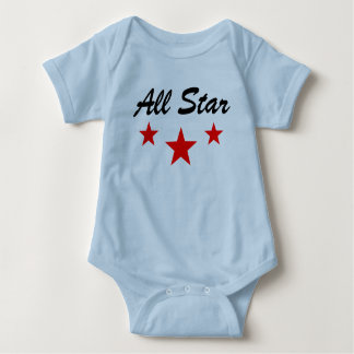 All star baby jersey, bodysuit, shirt