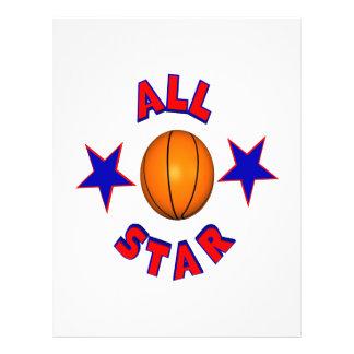 All Star Basketball Flyer