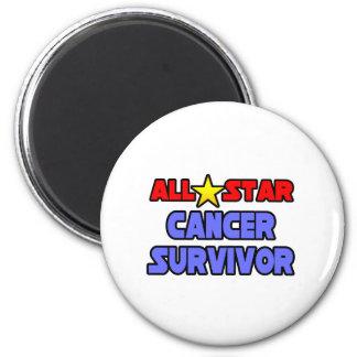 All Star Cancer Survivor Refrigerator Magnet