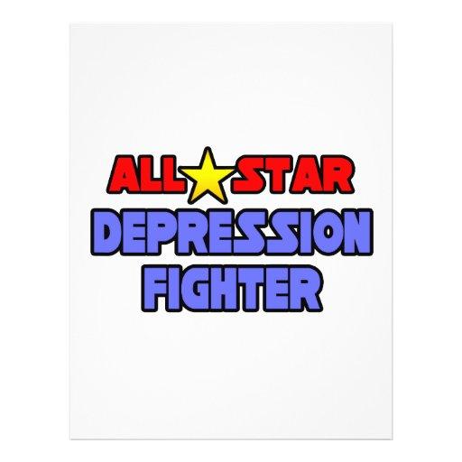 All Star Depression Fighter Flyer Design