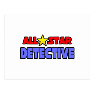 All Star Detective Postcard