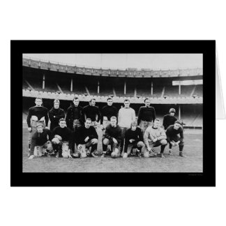 All Star Football Team 1915 Card