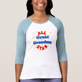 All Star Great Grandmother Mothers Day Gifts Shirt