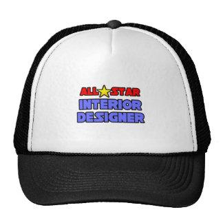 All Star Interior Designer Trucker Hats