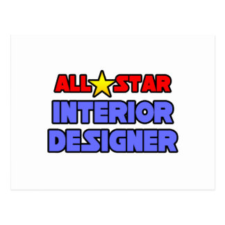 All Star Interior Designer Postcard