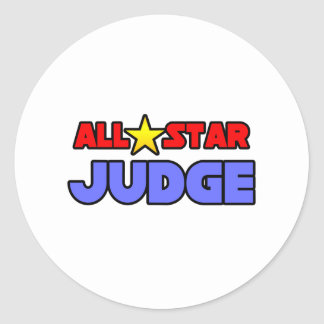 All Star Judge Stickers