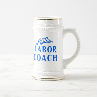 All Star Labor Coach Beer Steins