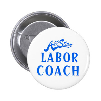 All Star Labour Coach 6 Cm Round Badge