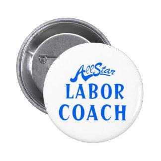 All Star Labour Coach Button