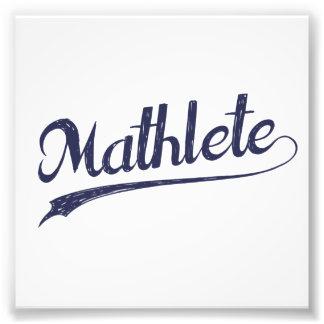 All Star Mathlete Math Athlete Photo Art