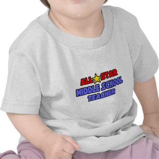 All Star Middle School Teacher Tee Shirt