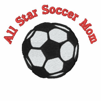 All Star Soccer Mom Embroidered Polo Shirt