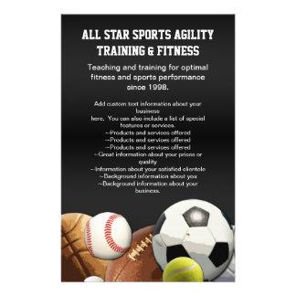 All Star Sports Balls w/ Brick Wall 14 Cm X 21.5 Cm Flyer