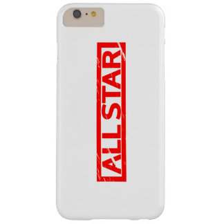 All star Stamp Barely There iPhone 6 Plus Case