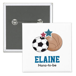 ALL STARS SPORTS Personalized Button