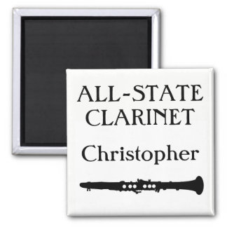 All-State Clarinet (customize name) Magnet