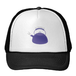 All Steamed Up Trucker Hats
