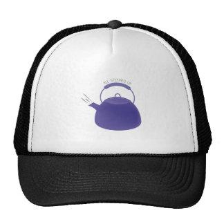 All Steamed Up Trucker Hats