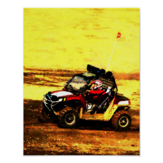All Terrain Vehicle Driver Poster