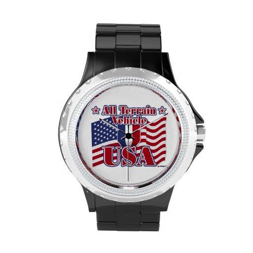 All Terrain Vehicle USA Wrist Watches