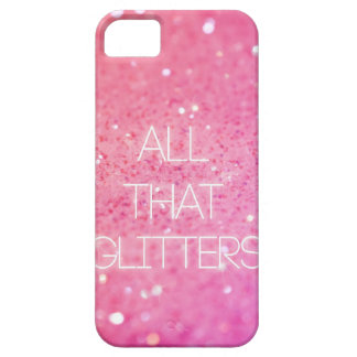 """All That Glitters"" iPhone Case"