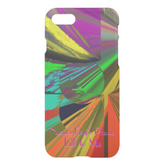 All That Jazz Exciting Abstract with Your Text iPhone 8/7 Case