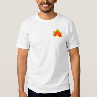 All the colors of fall in one leaf tees