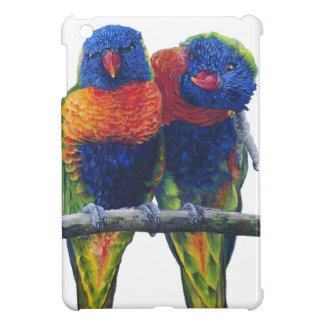 All the colors of the Rainbow Lorikeets Case For The iPad Mini