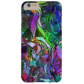 All the Colors with Swirls and Lines Barely There iPhone 6 Plus Case