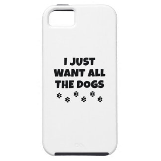 All The Dogs iPhone 5 Covers