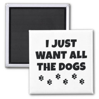 All The Dogs Magnet