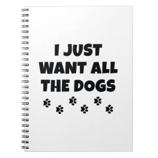 All The Dogs Notebook