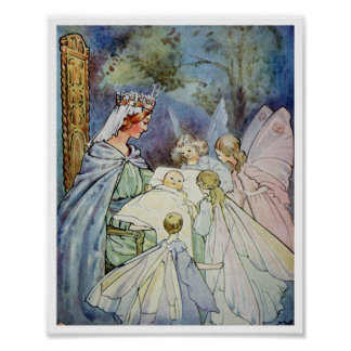 All The Fairies in the Land M. Tarrant, 1915 Poster
