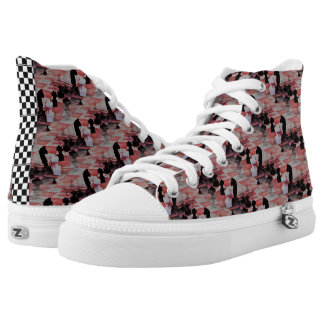 All The King's Men High Tops Printed Shoes