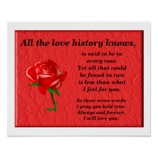 All the love history knows print