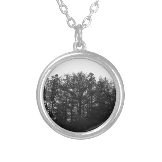 All the Numbness of a Perpetual Winter Silver Plated Necklace