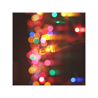 All the Pretty Lights Wrapped Canvas