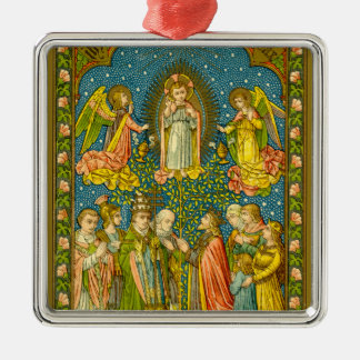 All the Saints Adore Thee (VVP OO2) Metal Ornament