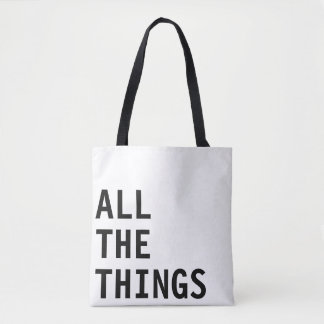 All the things - all over tote