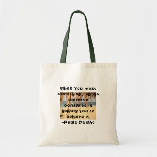 All The Universe Conspires Budget Bag