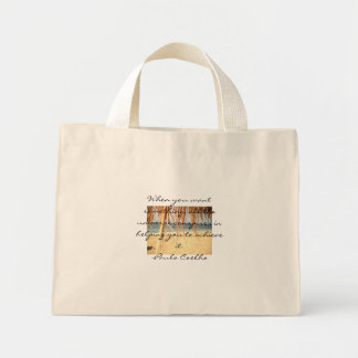 All The Universe Conspires Tote Bag