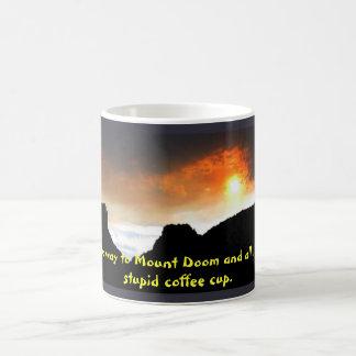 All The Way to Mount Doom Basic White Mug