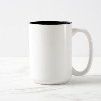 All these humans everywhere! Two-Tone coffee mug