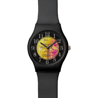 All things are possible with God Watch