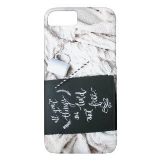 All things are wild and free|Phone Case