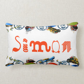 All Things Boy Personalized/Whimsical Lumbar Pillow