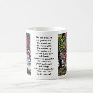 All Things Bright and Beautiful Basic White Mug