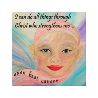 All Things Even Cancer Canvas Print