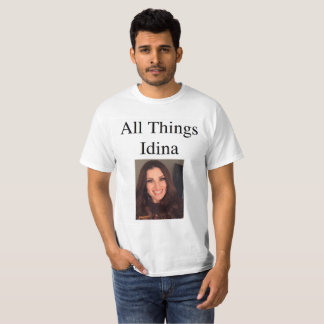 All Things Idina with picture T-Shirt