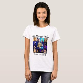 All Things Idina World Tour 2015 T-Shirt